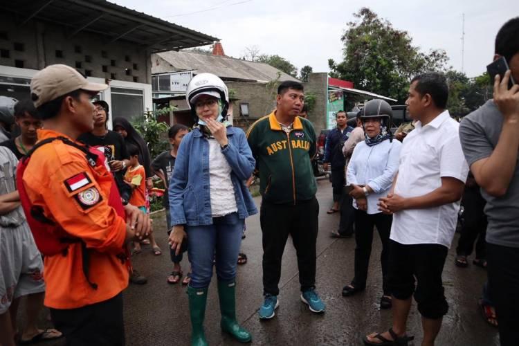 Banjir Di Tangsel Surut, Airin Sampaikan Terima Kasih