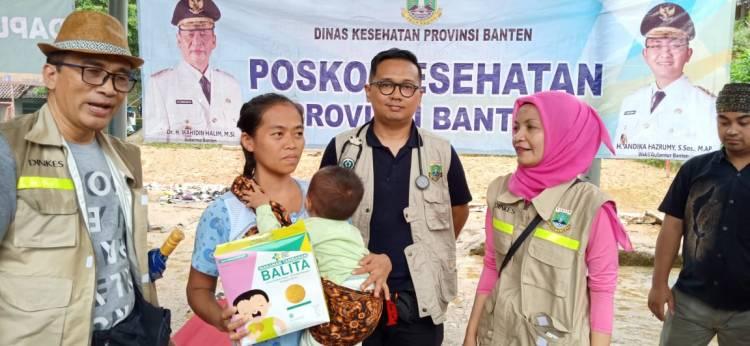 Pemrov Banten Bentuk Posko Bencana, WH : Kesehatan Korban Harus Sampai Tuntas