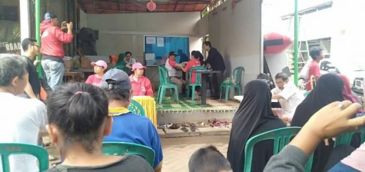 PSI Tangsel Buka Layanan Kesehatan Gratis Bagi Korban Banjir