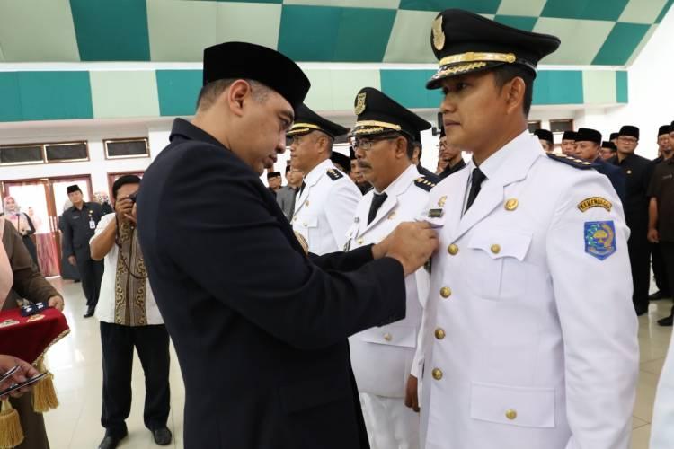 Lantik 223 Pejabat, Bupati Tangerang Ingatkan Kualitas Kerja