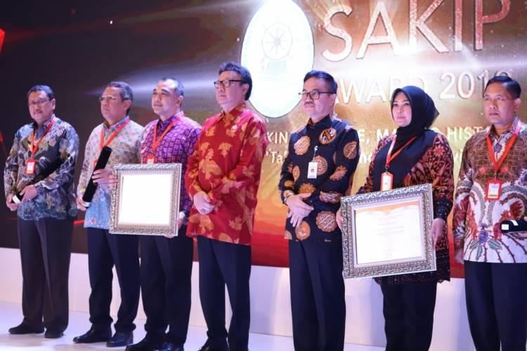 Akuntabilitas Kinerja Baik, Pemkab Tangerang Diganjar SAKIP Award dari KemenPAN-RB