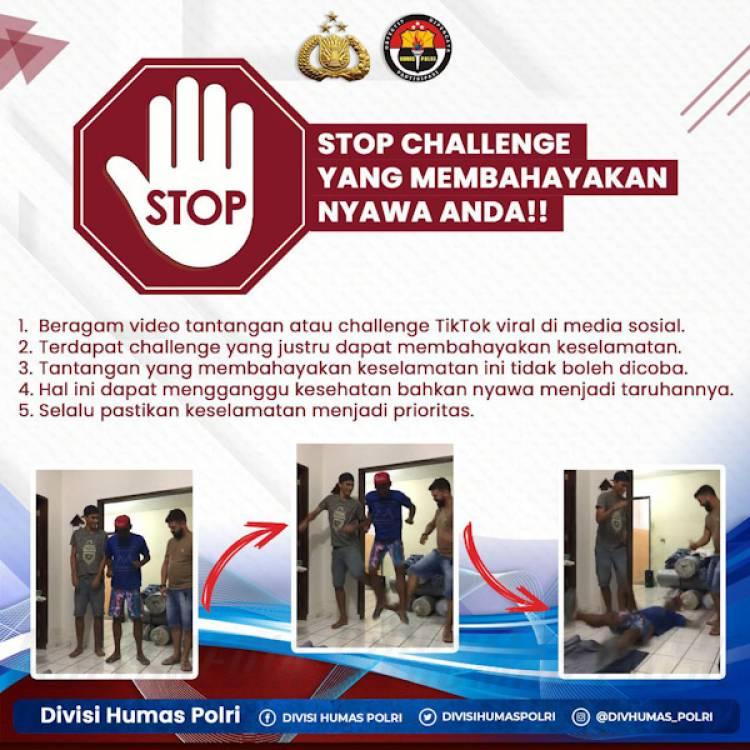 Viral Skullbreaker Challenge Banyak Makan Korban, Polda Banten Imbau Masyarakat Waspada