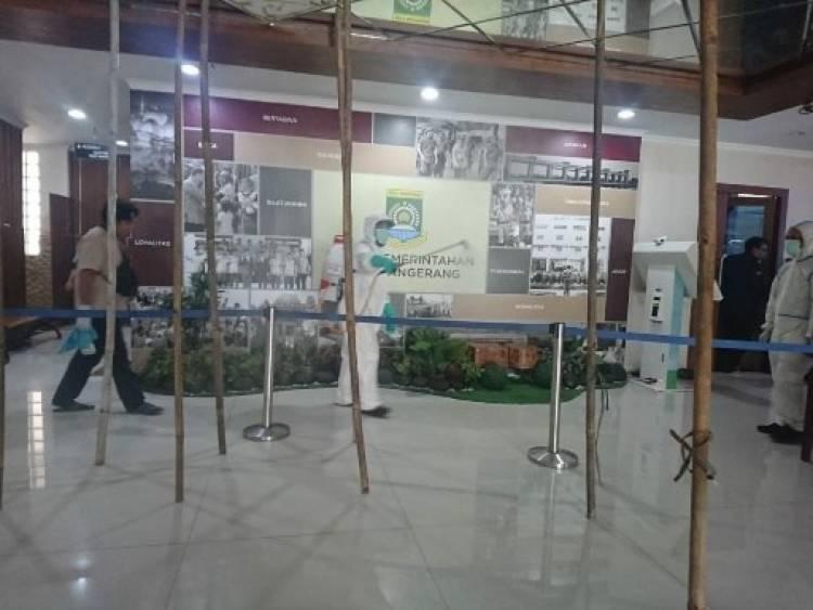 KABAR GEMBIRA!!! Cegah Corona Warga Kota Tangerang Bisa Ajukan Penyemprotan Disinfektan, Ini Caranya