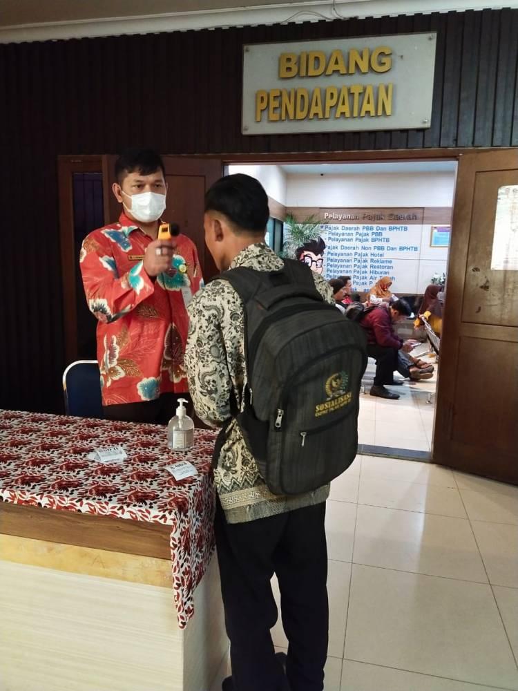 Corona, Bapenda Kabupaten Tangerang Keluarkan Himbauan Transaksi Non Tunai