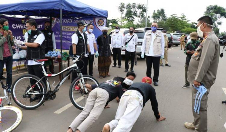 Warga Tangerang Dilarang Mudik, Bupati : Rakyat Tak Tertib PSBB Tak Berguna