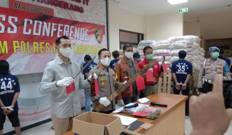 Dua Ormas Bentrok di Cikupa Tangerang, Polisi Tetapkan 10 Tersangka