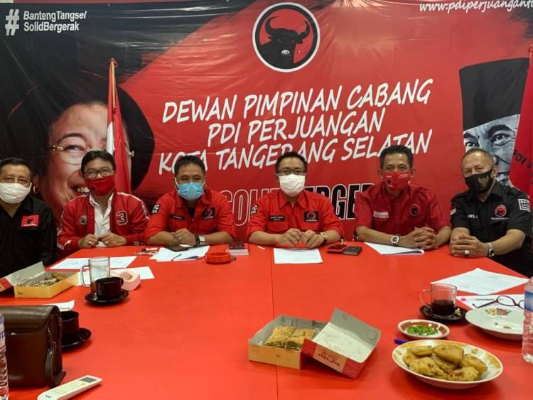Marah Besar! DPC Tangsel Akan Kejar Aktor Hingga Ancam Pidanakan Pendemo di DPP PDIP