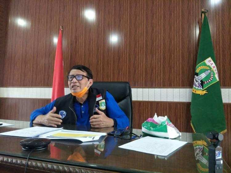 Seolah Lenyap Dari Media, Gubernur WH Ngaku Kerja Senyap Targetkan Provinsi Banten Zona Hijau