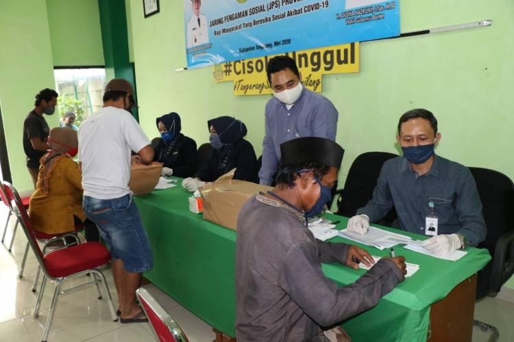Ga Mau Warganya Nyinyir, Penyaluran BST Terus Dikebut Dinsos Kabupaten Tangerang