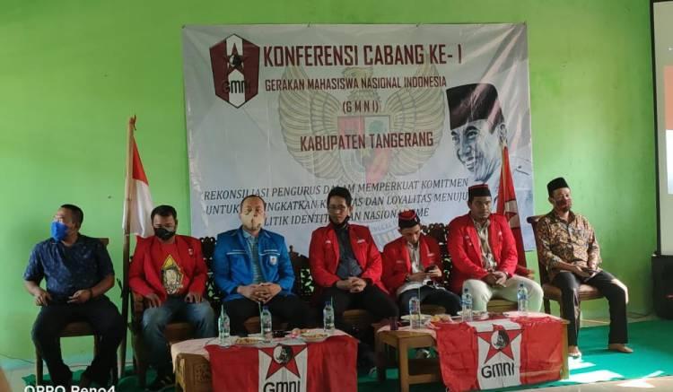 Konfercab I GMNI Cabang Kabupaten Tangerang Dibuka, Endang Terpilih Sebagai Ketua