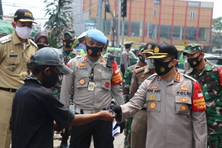 Pemkab Gelar Operasi Yustisi Sisir Warga Tak Pakai Masker