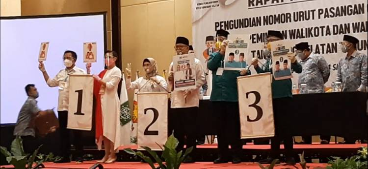 Genderang 'Perang' Pilkada Tangsel Ditabuh : Muhamad-Rahayu No 1, SNA-Ruhamaben No 2, Benyamin-Pilar Nostalgia