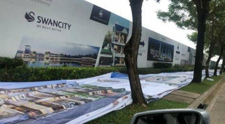 Perusahaan Properti Asal China di Tangerang Sebut Laporan Soal Papan Iklan Tak Benar dan Tanpa Dasar