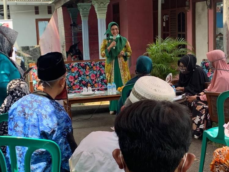 Azizah Janjikan Kesejahteraan Untuk Masyarakat Tangsel Sampai ke Kampung-Kampung