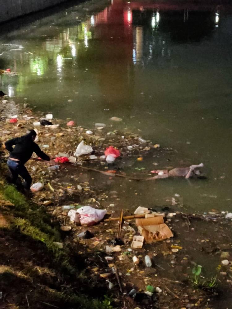 Mayat tanpa identitas ditemukan di Cisadane Kota Tangerang
