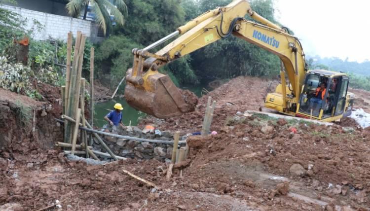 Antisipasi Banjir, Pemkab Targetkan 26 Titik Proyek Normalisasi Irigasi Selesai Desember 2020
