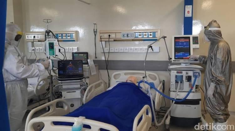 Kasus Covid-19 Melonjak, Indonesia Darurat Ruang ICU