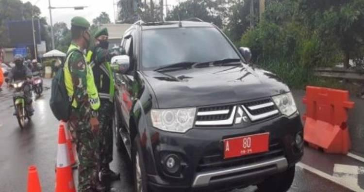 Mobil Pejabat Pemprov Banten Terjaring Razia di Bogor, Langgar Prokes dan Tak Bawa Surat Swab Antigen