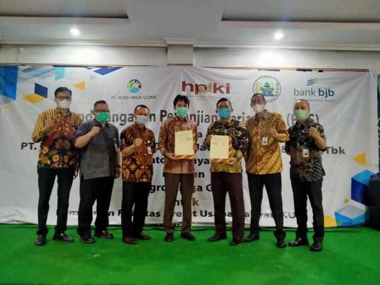 Kerja Sama Pola Kemitraan Bank BJB Sasar Pengembangan Peternak Banten