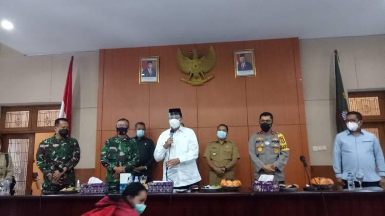 Seluruh Kepala Daerah Banten Besok Di Vaksin Di Pendopo