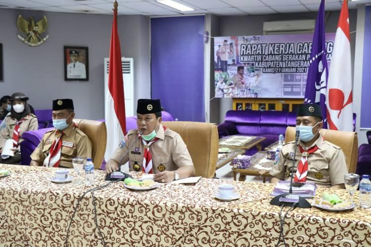 Kak Kwarcab Maesyal Rasyid membuka Rakercab 2021