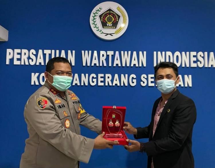 Polres Tangsel Akan Jalin Kerjasama Dengan PWI Kota Tangsel