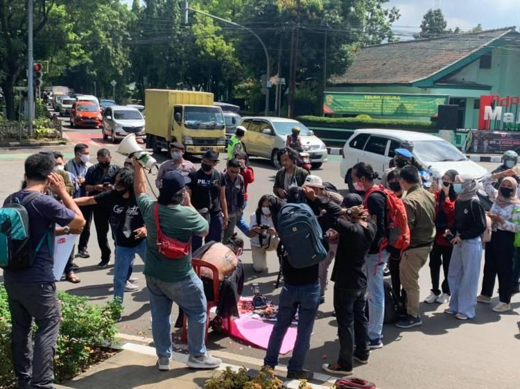Jurnalis Tangerang Desak Polri Usut Kasus Penganiayaan Wartawan Tempo