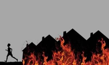 Gudang Supermarket Di Pondok Aren Terbakar