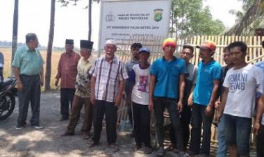 Ratusan Warga Pakuhaji Tangerang Terisolir Akibat Jalan Ditutup