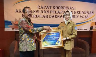 Cetak Treble WTP, Tangsel Terima Penghargaan dari Kementerian Keuangan