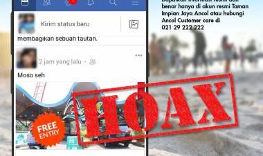 Viral Soal Promo Gratis di Sosmed, Ancol Sebut Itu Hoax