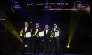 Berkah Bercokol di Tangerang, Sinar Mas Land Raih Asia Property Awards 2018