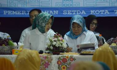 Airin Sampaikan Progres Pembangunan di Kecamatan Setu