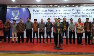 Pengurus DPP KAMSRI 'Wong Kito Galo' Resmi di Lantik