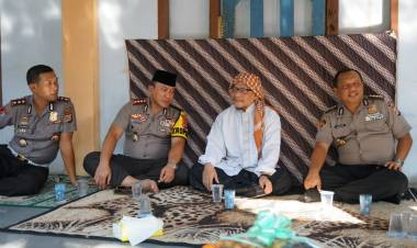 Sowan ke Ulama Balaraja, PJU Polda Banten Harap Kemitraan Strategis