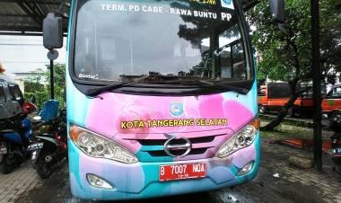 Trans Anggrek Gak Laku, Pemkot Tangsel Masih Optimis Warga Mau Naik Transportasi Umum