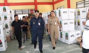 Cek TPS Terbanyak di Kab Tangerang, Zaki Ingatkan Jaga Ketat Logistik