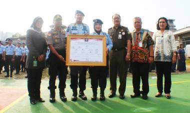 Kemkumham Banten Canangkan Zona WBK di Lapas Tangerang