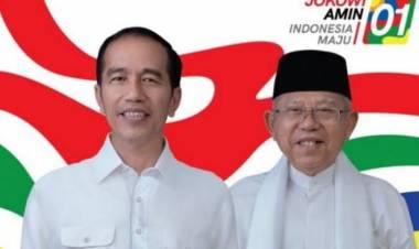 Sah, KPU : Jokowi-Ma'ruf Amin Pemenang Pilpres 2019