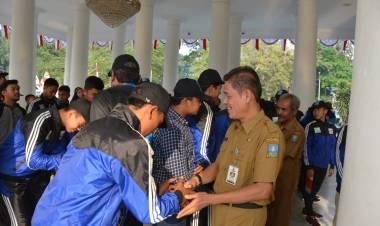 Optimis Atlit Kabupaten Serang Raih Juara Umum di Pospeda Provinsi