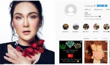 Akun IG Luna Maya Dihack Dari Turki