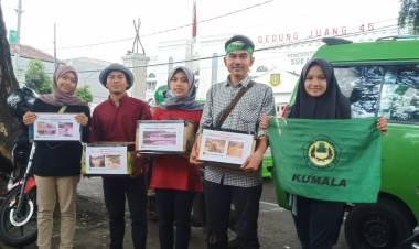 Mahasiswa Lebak Gelar Aksi Penggalangan Dana Untuk Korban Banjir di Lebak Selatan