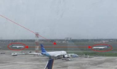 Pilot Salah Pahami Perintah ATC, Dua pesawat Garuda Indonesia Nyaris Adu Banteng di Bandara Soetta