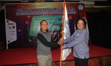 Pengurus Pokja Wartawan Resmi Dilantik, Bang Ben : Pejabat Harus Sinergi Soal Informasi