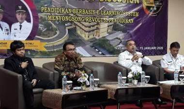 Kabupaten Tangerang Bakal Terapkan e-Learning, Siswa SMP Bisa Homeschooling