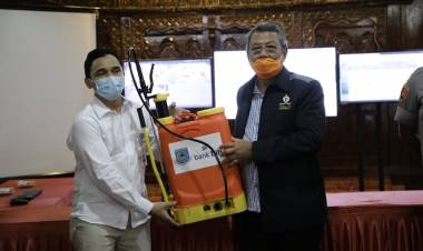 BJB Tangsel Berikan Bantuan Bagi Pencegahan Wabah Corona