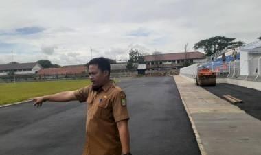 Pembangunan Stadion Benteng Masih Belum Selesai, Atlet Puslatcab Porprov VI Mengaku Tak Latihan Maksimal