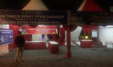 Ombudsman Banten Minta Pemkot Tangerang Optimalkan Penerapan PPKM Level 4