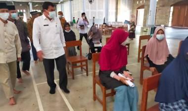 Inisiatif Gelar Vaksinasi, Sekda Kabupaten Tangerang Apresiasi Ponpes Budi Mulia Kecamatan Solear