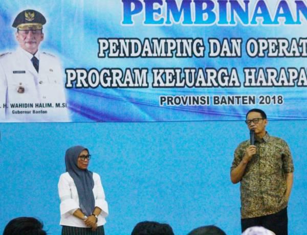 Gubernur WH Sebut Emak-emak PKH Agen Perubahan dan Pembangunan Pemprov Banten
